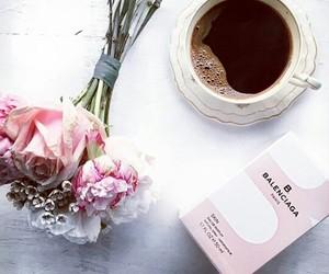 Balenciaga and coffe image