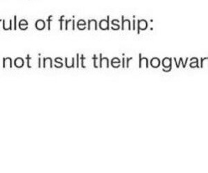friendship and harry potter image