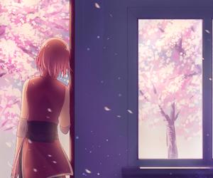 anime, kawai, and naruto girls image