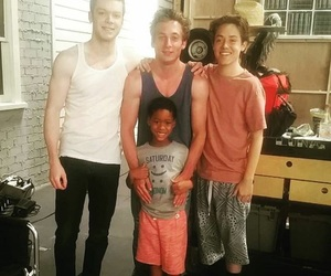 shameless, cameron monaghan, and jeremy allen white image