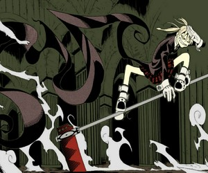 madness, soul eater, and maka image