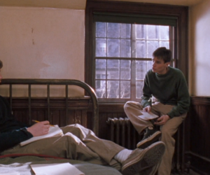 dead poets society and ethan hawke image