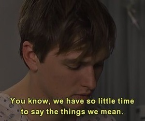 quotes, movie, and time image