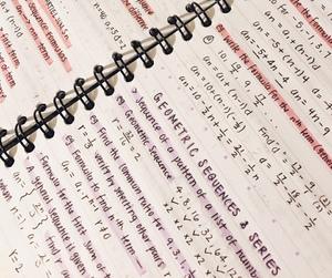 math, study, and study inspiration image