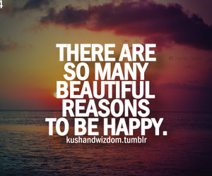 happy, quote, and reason image