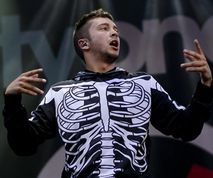 top, twenty one pilots, and tyler joseph image