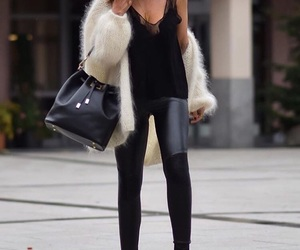 bag, boots, and classy image