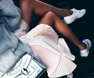 girly, classycgal, and skirt image