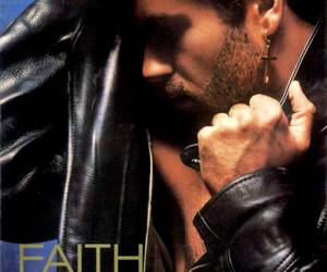 george michael and faith image