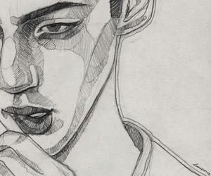 art, draw, and troye sivan image