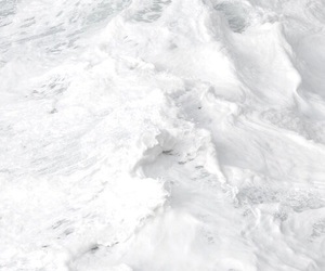 white, sea, and waves image
