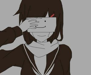 85 Images About Anime Girl Sad Happy Crying On We Heart It See