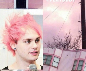 pink, michael clifford, and lockscreen image