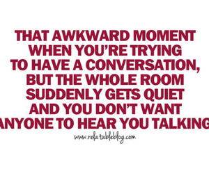 awkward, quote, and talk image