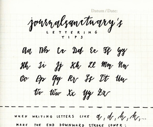 lettering, study, and study inspiration image