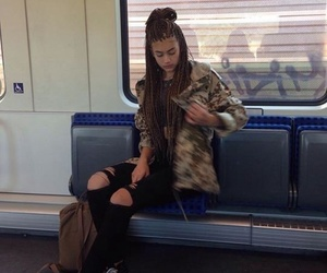vans and box braids image