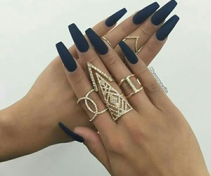 accessories, girl, and nail image