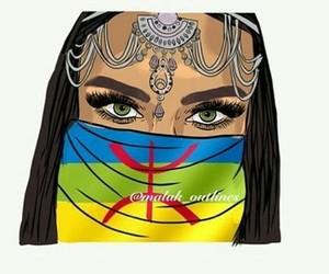 amazigh, rif, and berbere image