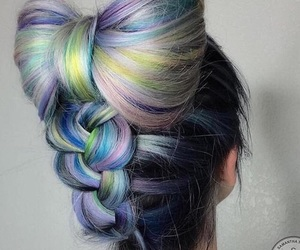 bowl, colors, and hair image