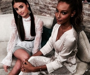 jasmine tookes, taylor hill, and fashion image