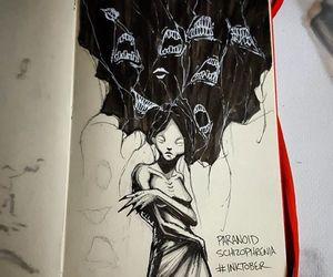 art, schizophrenia, and disorder image