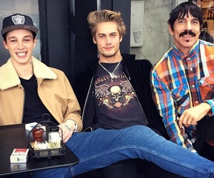 anthony kiedis, Ash Stymest, and rhcp image