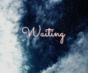 aesthetic, galaxy, and waiting image