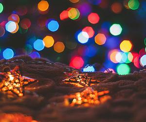 bokeh, christmas, and color image
