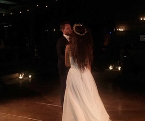wedding and troian bellisario image