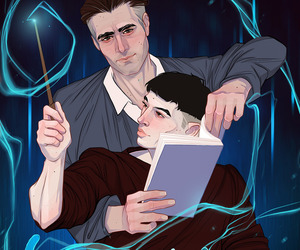 art, fantastic beasts, and harry potter image