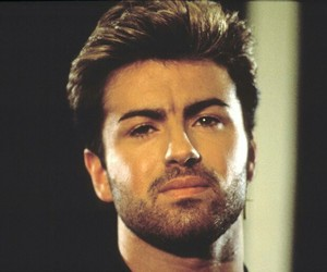 george michael, last christmas, and thelegend image