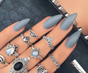 cosmetics and nails image