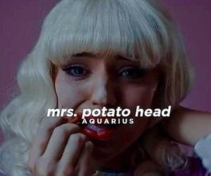 aquarius, zodiac, and mrs. potato head image