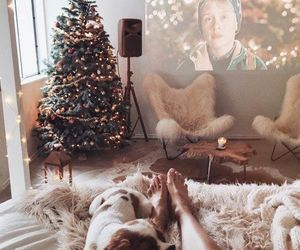 christmas, cuddle, and winter image