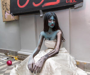 corpse bride, hair, and party image