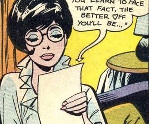 comic and girl image