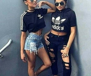 adidas, fashion, and style image