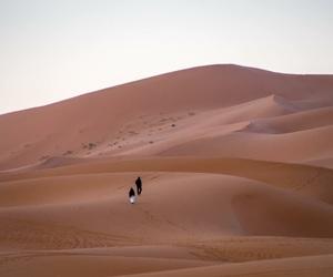 desert, sand, and travel image