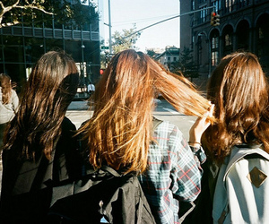 3, girls, and hair image