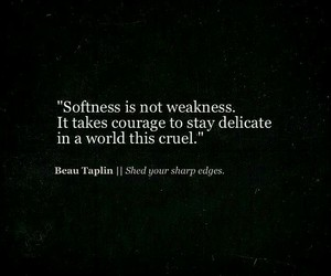 quotes, softness, and world image