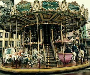 carousel, enjoy, and french image