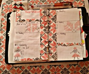 daily planning, planner, and traditional theme image