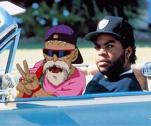ice cube and anime image