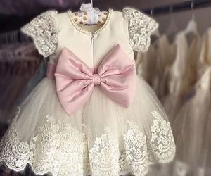 dress, baby, and beautiful image