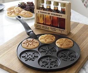 pancakes, food, and christmas image