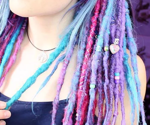 hair, dreadlocks, and dreads image