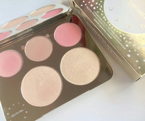 pink, makeup, and pastel image