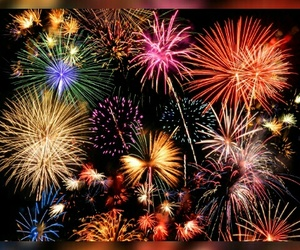 fire, lovely, and firework image