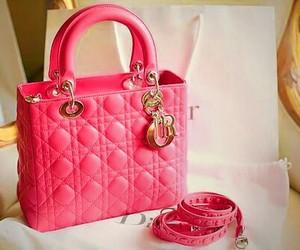 bag, dior, and pink image