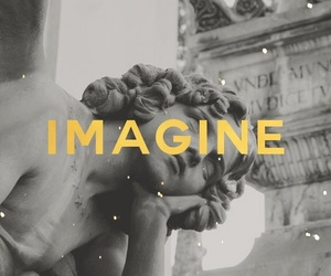 imagine, statue, and wallpapers image